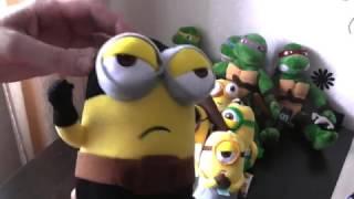 Обзор мягких игрушек - набор миньонов по м./ф.Гадкий Я