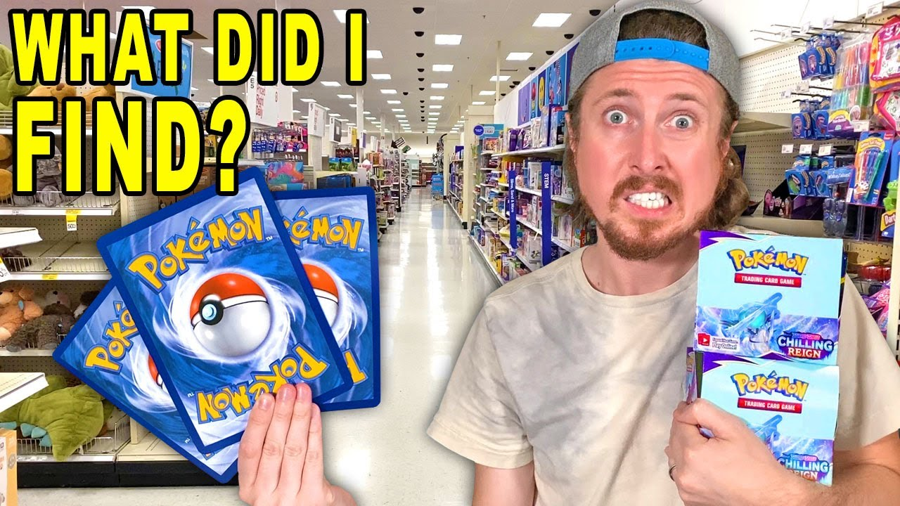 What Pokemon Cards Should I Buy? I FOUND PACKS AT A FIVE BELOW STORE! (opening)