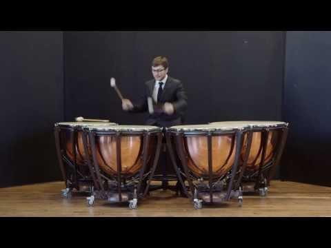 Pierre MICHEL The first Daniel Martin international timpani competition