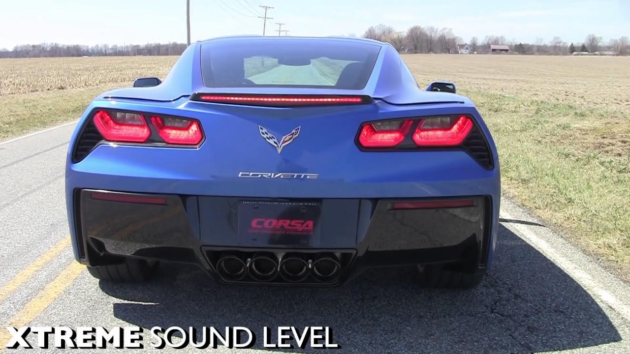 2014 2017 chevrolet corvette c7 performance exhaust system. Black Bedroom Furniture Sets. Home Design Ideas