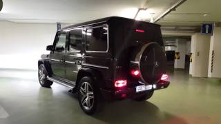 G 63 AMG unbelievable  exhaust / Гелик 63