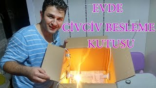 Karton Kutudan Civciv Bakım Kutusu Yapımı