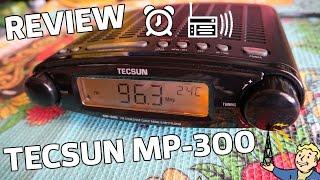 Tecsun MP-300 Review - Обзор - FM приемник - Часы - Будильник