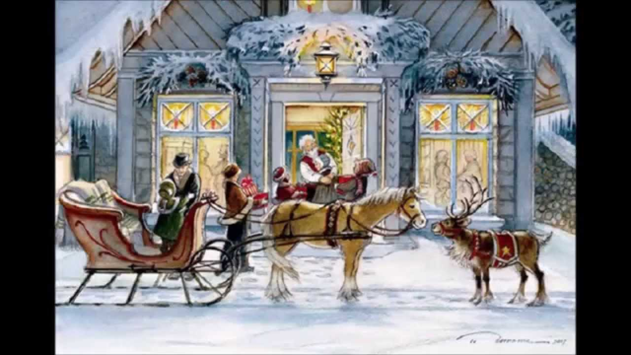 trisha romance paintings traditional portuguese christmas
