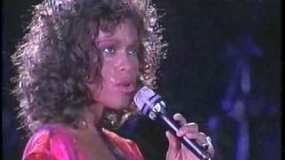 whitney houston   saving all my love   hq live brazil