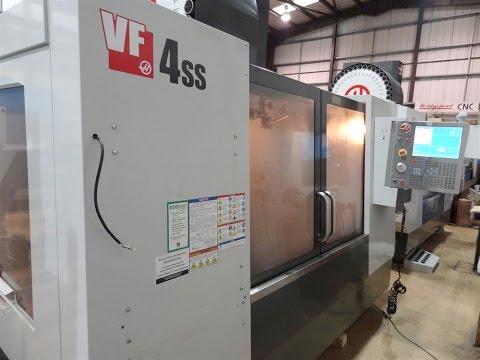 Haas VF4 SS