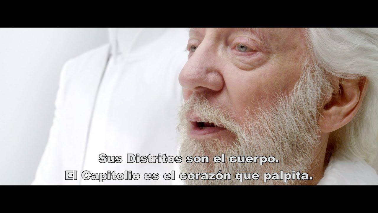 Trailer 1 Los Juegos Del Hambre Sinsajo Parte 1 Youtube