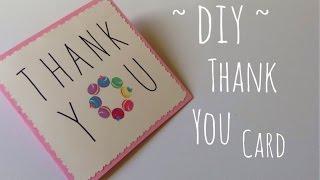 Diy Thanksgiving Day Gift Idea Friendship Card Easy | Craftyourfashion