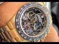 Rolex Daytona Custom Skeleton Dial La Montoya 116520