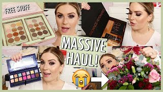 I GOT SOME FREE STUFF..... 📦 New PR Haul & Giveaway!