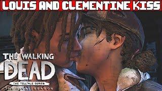 Video Louis Kisses Clementine - THE WALKING DEAD SEASON 4 Episode 2 download MP3, 3GP, MP4, WEBM, AVI, FLV September 2018