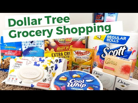 Dollar Tree Grocery Shopping! I Earned A Gift Card! No Coupons Used