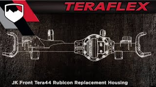 TeraFlex Product Highlight: Tera44 Rubicon Replacement Axle Housing
