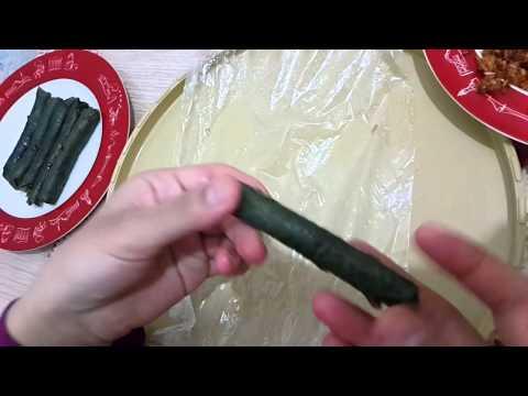 PRATİK YAPRAK SARMA .... Yemek Tarifleri Ve Videolu Tarifler