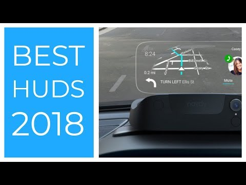 Best Head Up Display for Car, Vehicle 2018   Best HUD