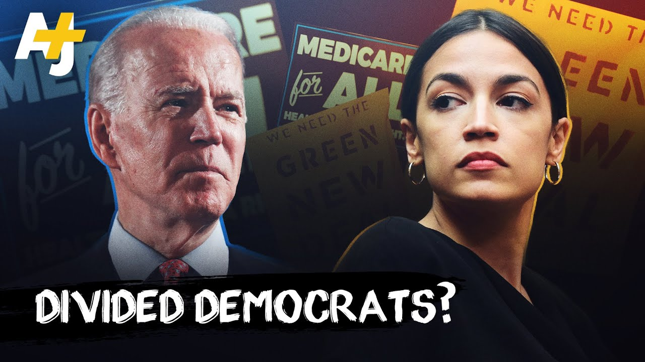 AOC vs. Joe Biden: How Are They Both Democrats?