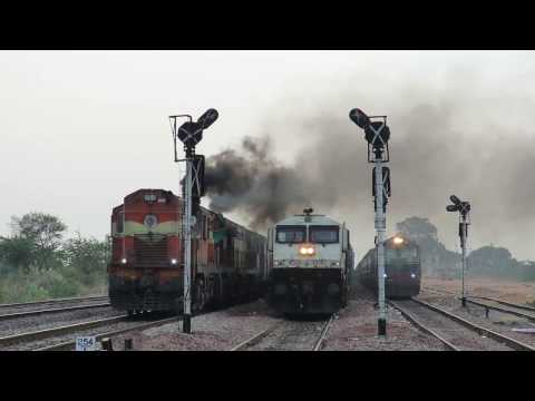 Land of freights GTL-BAY line Hwh bound Amaravati Exp - Indian Railway's