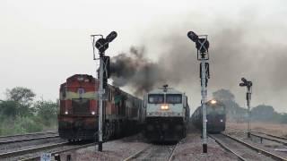 Land of freights GTL-BAY line Hwh bound Amaravati Exp - Indian Railway's