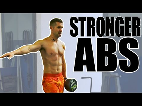 TOP 7 Dumbbell Exercises for STRONGER Abs & Core | Shredded Six Pack