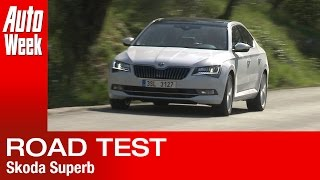 Skoda Superb [2015] road test - English subtitled