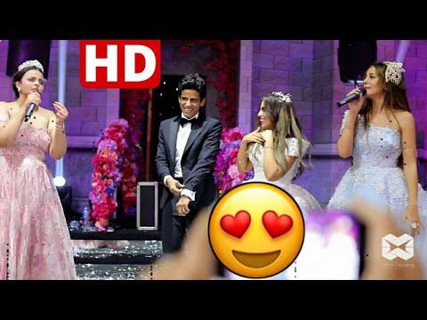 أغنية أخوات إسراء عبد الفتاح في حفل زفافها على حمدى المرغني نجم مسرح مصر HD