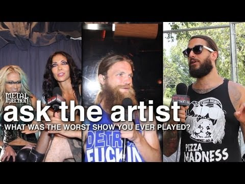 MAYHEM FEST Worst Show You've Played? - ASK THE ARTIST on Metal Injection