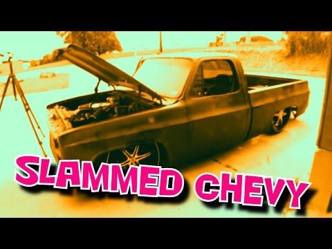 Slammed Chevy Truck-The ART OF BEING A LAZY ASS