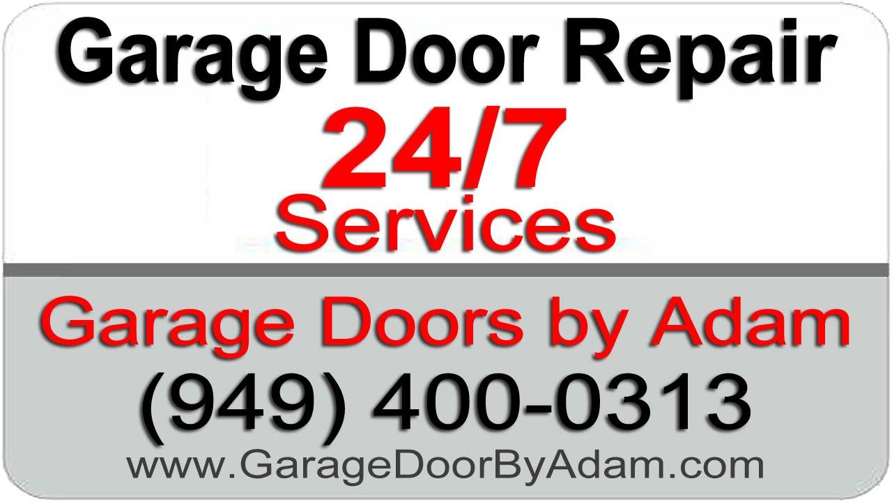 Garage Door Repair Newport Beach Ca Youtube