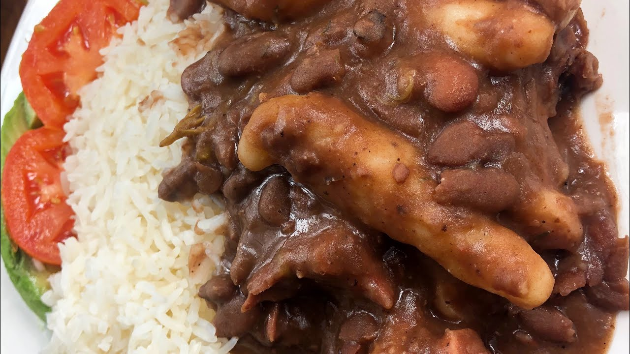 classic stew peas jamaican style  youtube