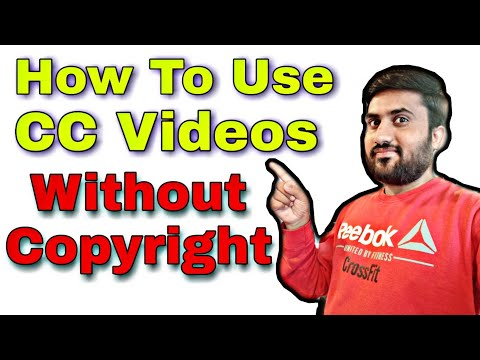 How to use creative commons videos without copyright strike on youtube