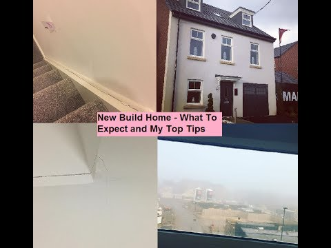 Moving House New Build Homes 5 Things To Expect When You Move In Youtube