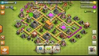 Clash Of Clans Oynuyoruz #1 Barbar Okçu ve Goblin Saldırıları