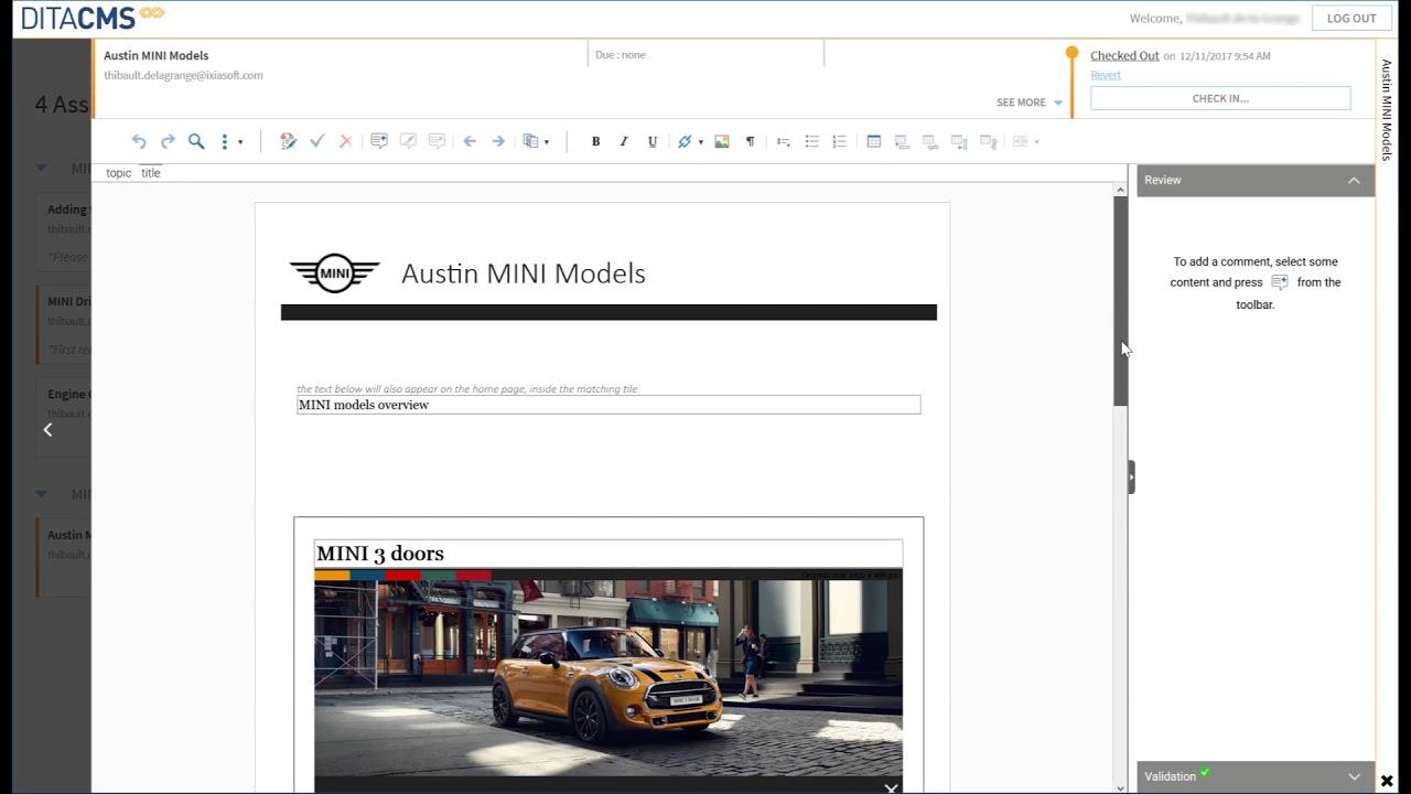 CCMS Web & Desktop Solutions - What's New - IXIASOFT CCMS