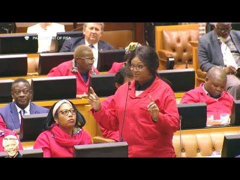 "EFF Warns The DA ""AGAIN"" In Parliament"