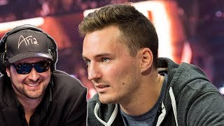 Steffen Sontheimer's #BangBang on Phil Hellmuth Poker Ability