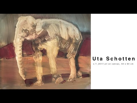 Öl auf Leinwand, Bild II, Uta Schotten