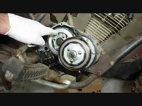 Wheeler Wiring Diagram My Old Atc 185 Part 5 Remove Clutches Shift Shaft Youtube