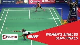 SF | WS | Gregoria Mariska TUNJUNG (INA) vs Saina NEHWAL (IND) | BWF 2018