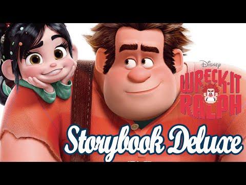 Wreck it Ralph Storybook Deluxe DIsney Princess Fix it Felix
