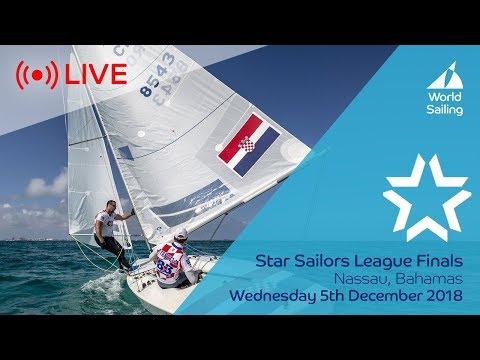 LIVE Sailing | Star Sailors League Finals | Nassau, Bahamas | Wednesday 5 December 2018