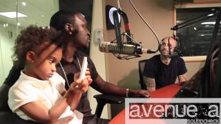 AKON invades Ave A Soundcheck with DJ Whoo Kid & Nima on Shade 45 SiriusXM