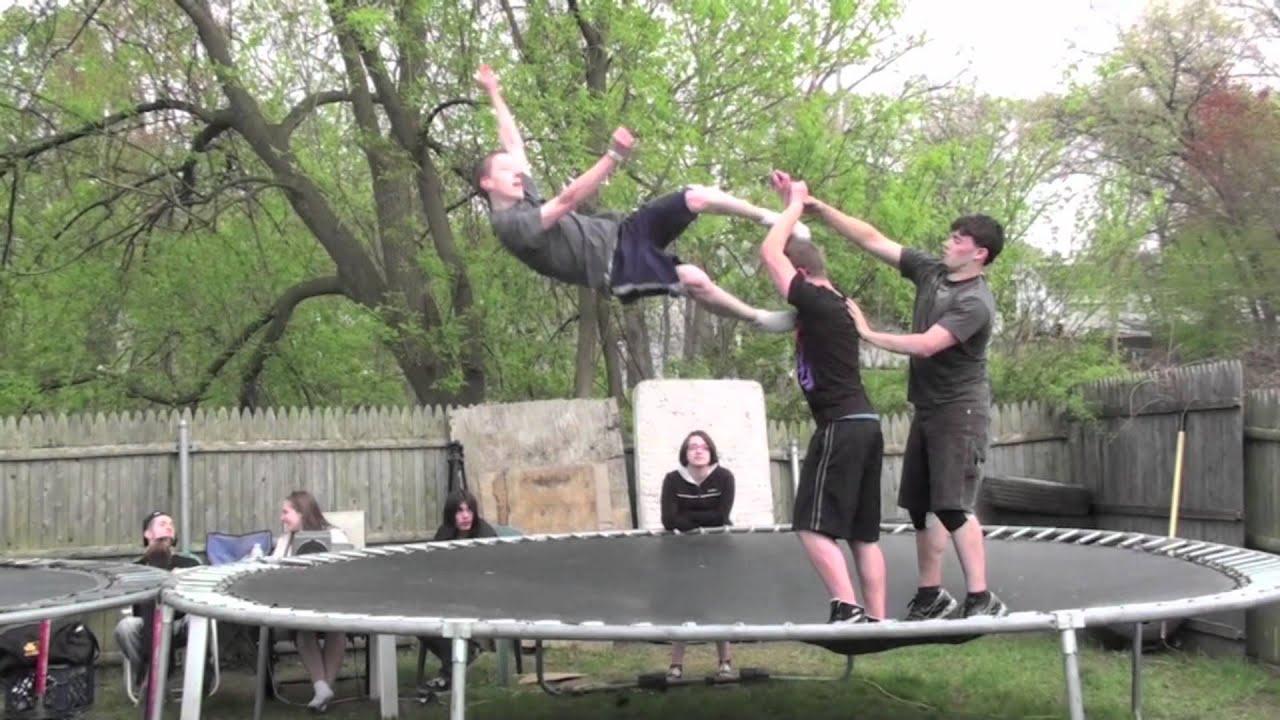 extreme backyard wrestling youtube