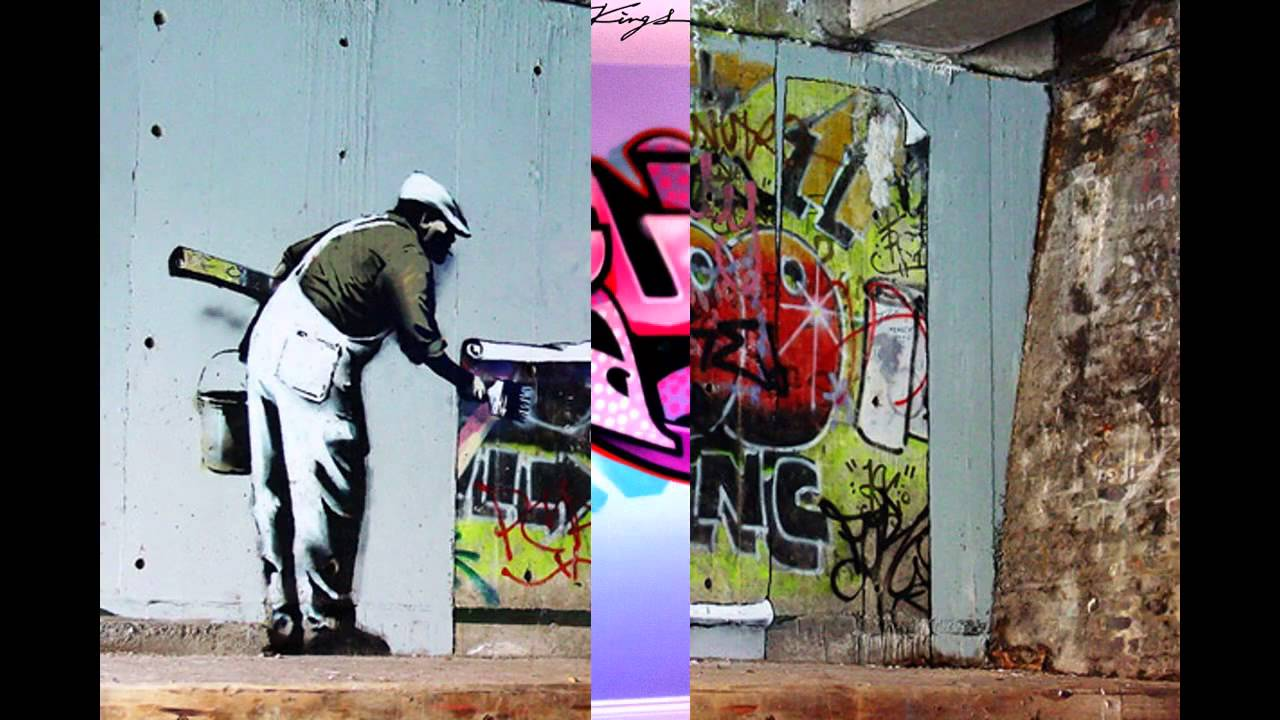 Graffiti room wallpaper decor ideas