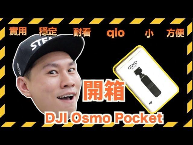 DJI Osmo Pocket 猪都会用的相机!猪年猪相机【開箱】