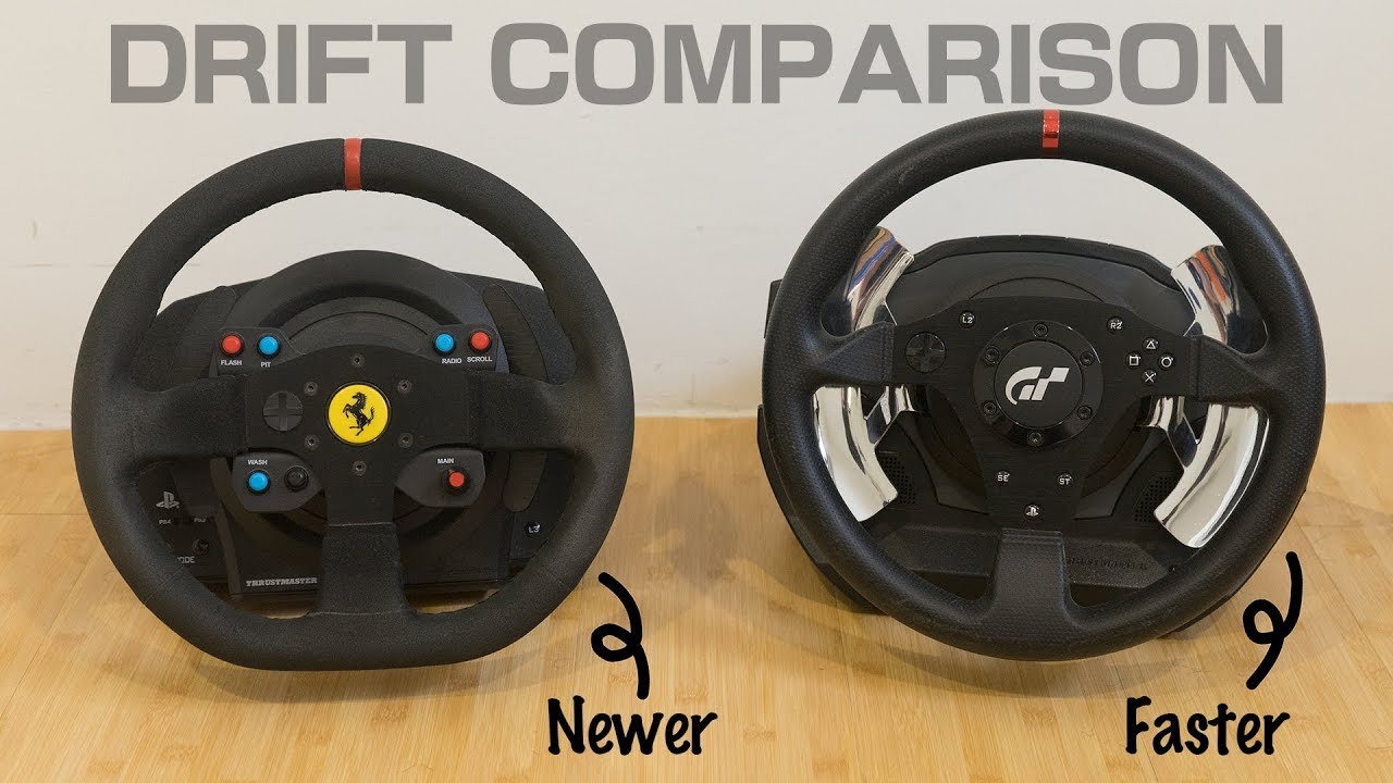 【Drift Comparison】Thrustmaster T300RS vs T500RS