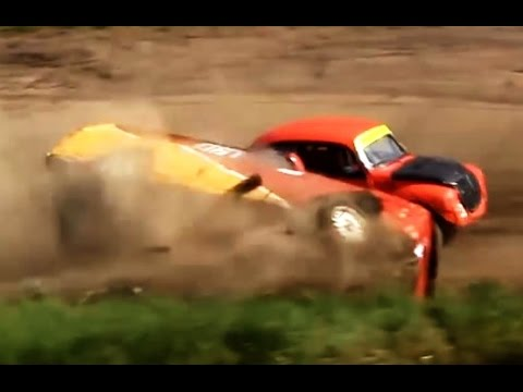 Racing Crash Compilation, The Best Swedish Racing Crashes & Accidents Folkrace Krasch Film Part 8