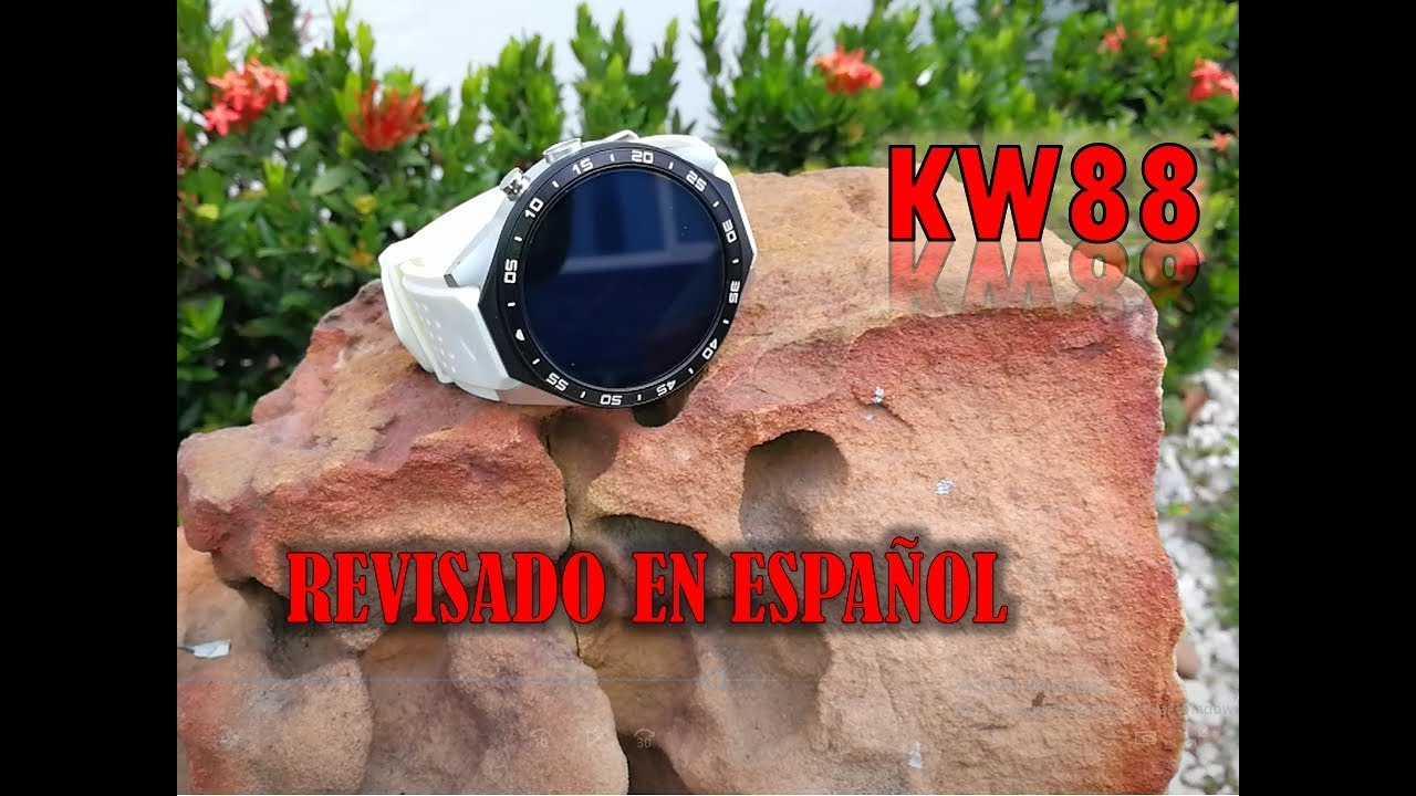 KingWear KW88 new watch faces 2019 by GG Gaming