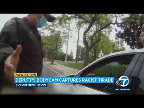 Video shows racist tirade against LA County deputy | ABC7