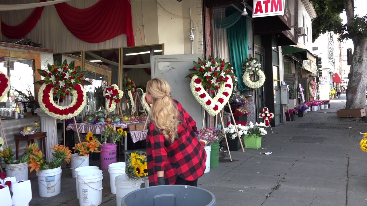 Los Angeles Flower District Youtube