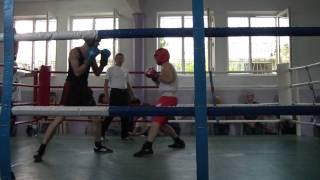 Бокс Одесса. победа Сизоненко М